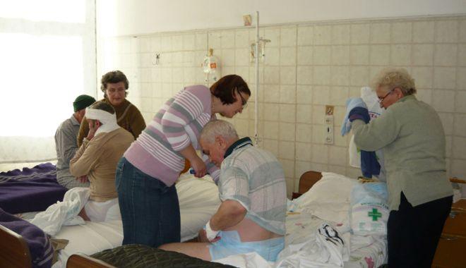 Foto: Spitalul de Urgenţă Constanţa a limitat accesul vizitatorilor