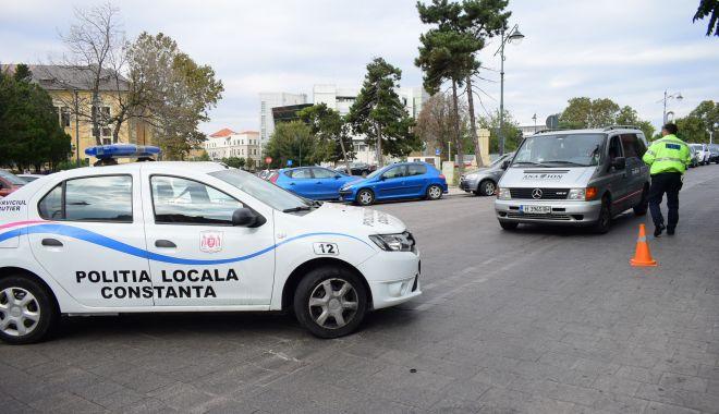 Foto: Mai multe străzi din Constanţa, închise, până vineri, traficului maşinilor
