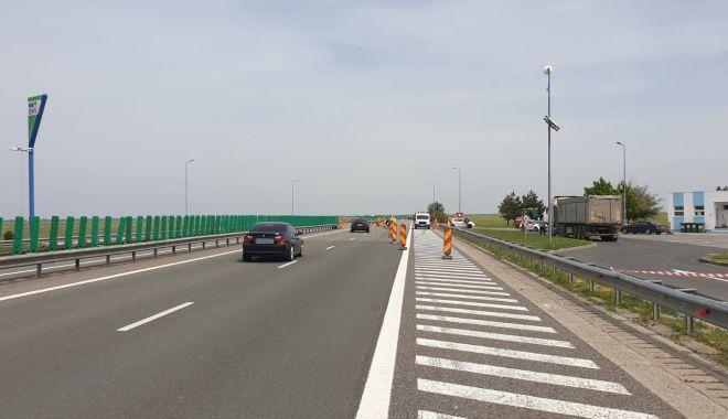 Foto: Restricții de circulație pe Autostrada Soarelui, duminică și luni