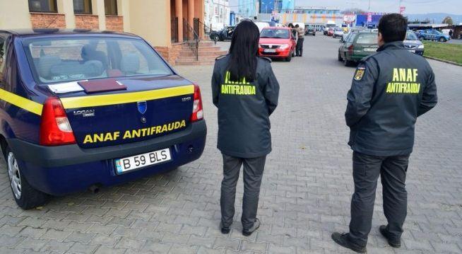 Foto: Reţea evazionistă de 46 de firme destructurată de Antifrauda Fiscală