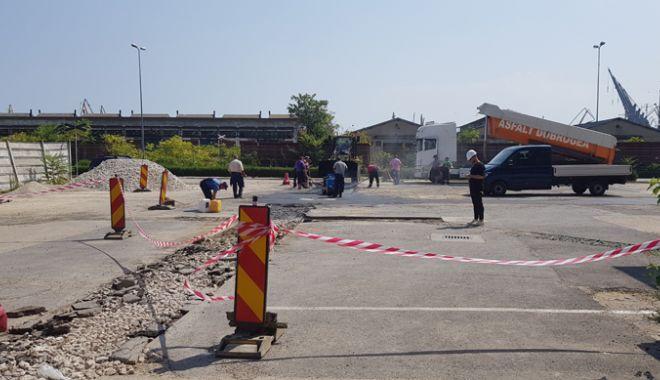 Rețeaua de apă construită în portul vechi, pe timpul lui Anghel Saligny, va fi schimbată - reteauadeapa7-1539956001.jpg