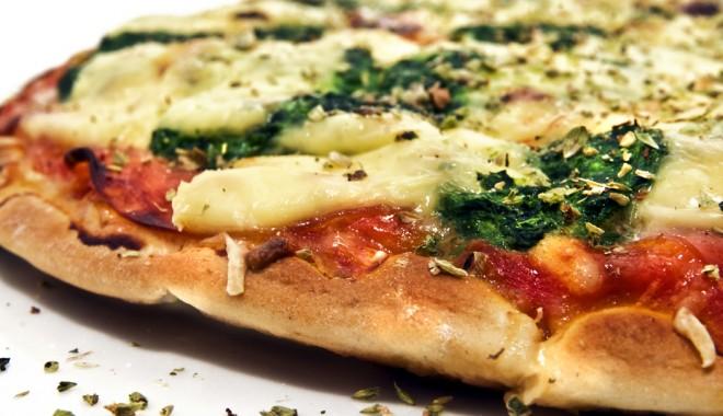Foto: Pizza vegetariană