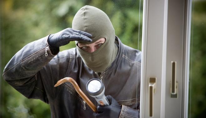 Foto: Prins după ce  a furat un televizor  din Satul de Vacanţă