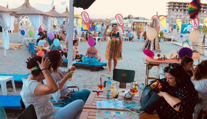 Foto: Petrecere retro la Saint Tropez Beach Mamaia Nord