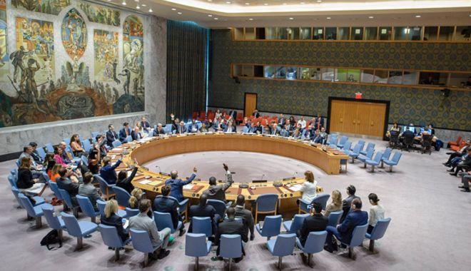Foto: Reuniune a Consiliului de Securitate  după un test cu rachetă efectuat de Iran