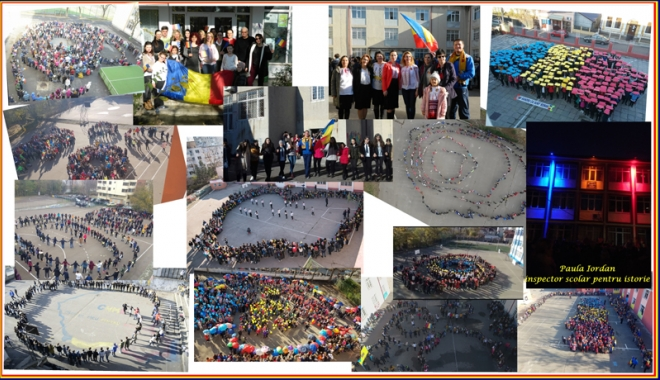Foto: Reuşita unei campanii de succes. 50.000  de elevi, mobilizaţi de ISJ Constanţa