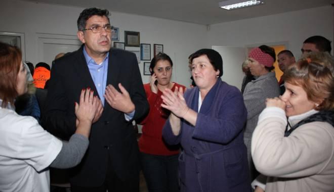 Foto: Galerie foto. Revoltă la Sanatoriul Balnear Techirghiol!