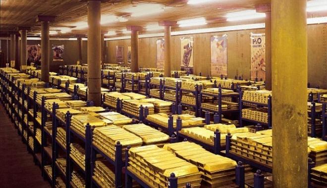 Foto: Iată care este rezerva de aur a României