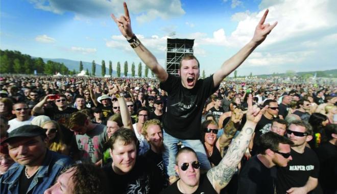 Foto: La malul Dunării! Capidava Rock Fest