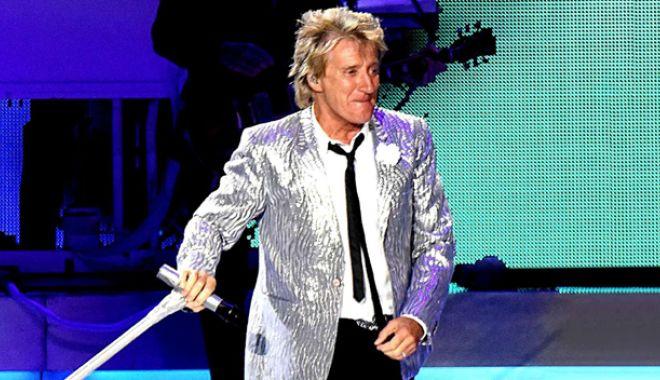 Foto: Rod Stewart, după 23 de ani, din nou în România. Acces gratuit la concert!
