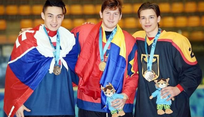 Foto: Român medaliat cu aur  la Jocurile Olimpice de Tineret