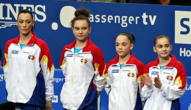 Foto: Gimnastele tricolore s-au calificat în finala Campionatului European