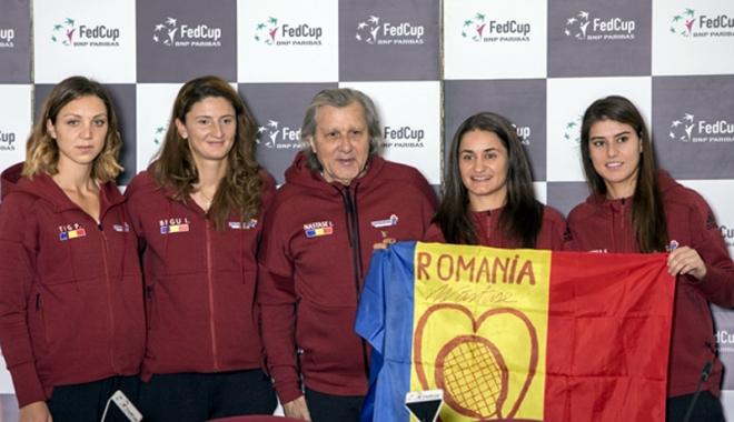 Foto: România întâlneşte Marea Britanie, în barajul din Fed Cup