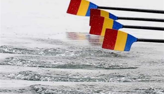 Foto: CANOTAJ / Argint în proba masculină de patru rame, la Europenele din Cehia