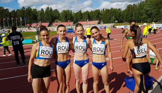 Foto: România a terminat pe 7 la Europenele de atletism pe echipe