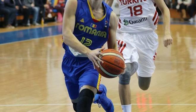 Foto: România - Belgia, primul duel la Campionatul European de baschet U16