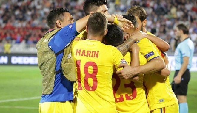 Foto: Fotbal / Lituania 1-2 România în Liga Naţiunilor. Victorie dramatică în prelungiri