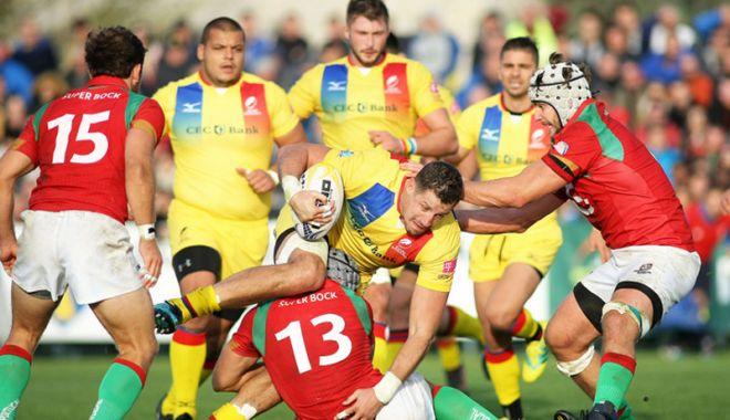 Foto: România a învins Portugalia şi rămâne în eşalonul secund al rugby-ului european
