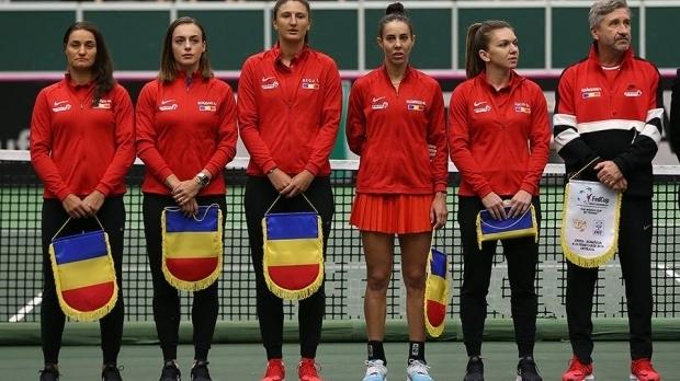 Foto: Florin Segărceanu a anunţat lotul României pentru semifinala cu Franţa din FED CUP
