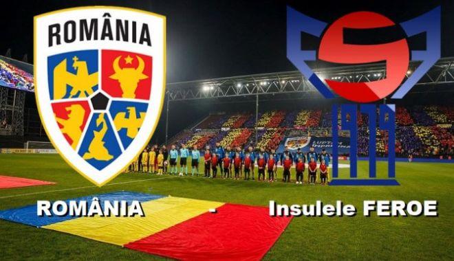 Foto: Victorie de moral pentru România în faţa Insulelor Feroe
