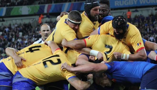 Foto: RUGBY / Naţionala României, meci amical cu Brazilia, în premieră