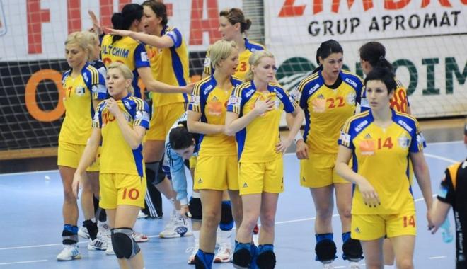 Foto: Handbal feminin / România a învins Austria şi s-a calificat la Campionatul Mondial 2017