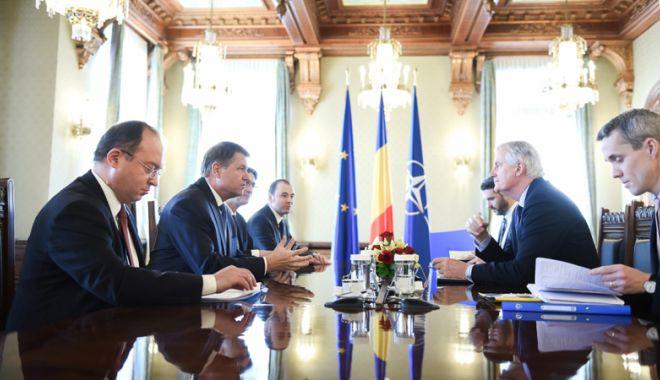 """Foto: """"România susţine o cooperare strânsă a UE cu Marea Britanie după Brexit"""""""