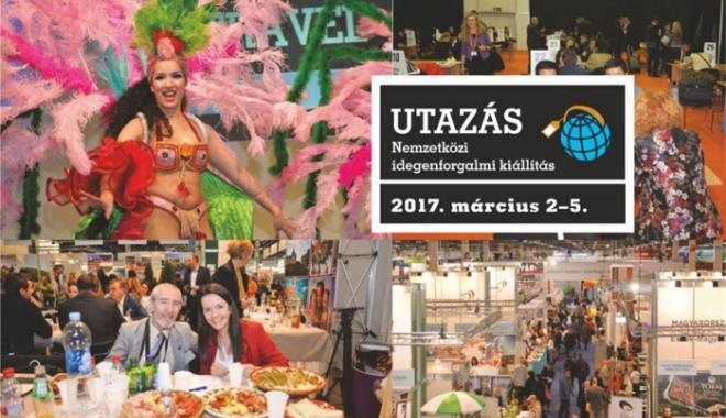 """Foto: România prezentă la Târgul de turism """"Utazas 2017"""" din Budapesta"""
