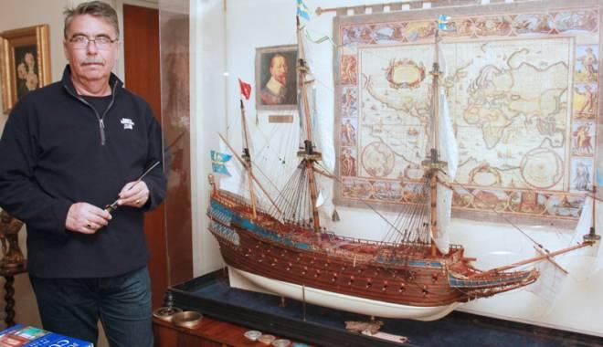"""Foto: Secretele modelismului naval. Andrei Romeo şi """"crezul său de o viaţă"""""""