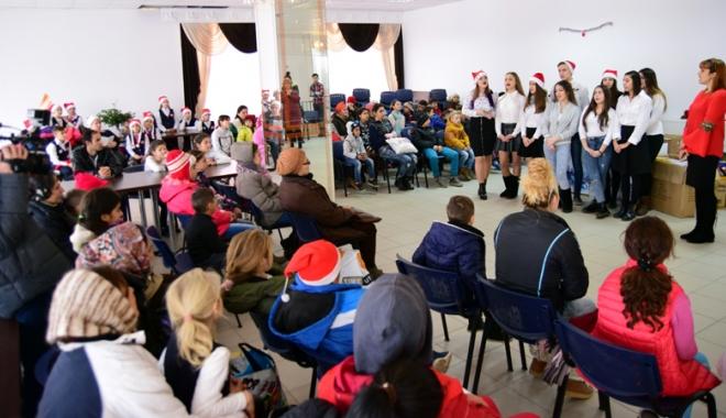 Angajații Rompetrol Rafinare, Moș Crăciun pentru copiii nevoiași din Năvodari - rompetrol-1482335437.jpg