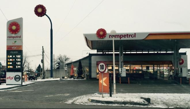 Rompetrol îşi întâmpină clienţii în benzinării cu ceaiuri calde