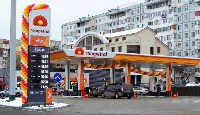 Foto: O nouă benzinărie Rompetrol în Chișinău