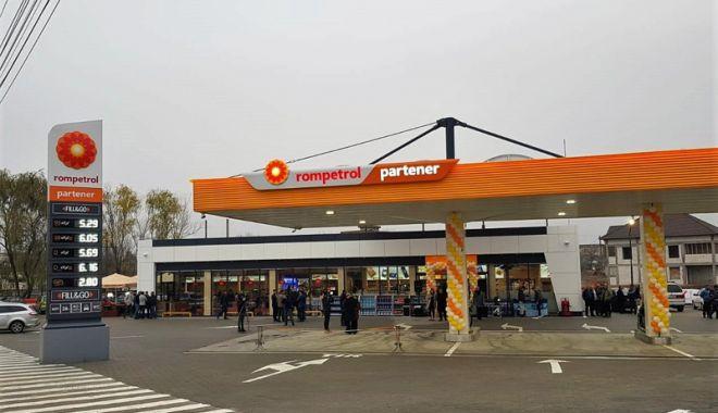Foto: Rompetrol, o nouă stație în oraşul Filiaşi