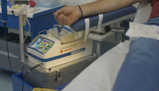Foto: KMG International mărește capacitatea tehnică a Centrului de Transfuzii Constanța