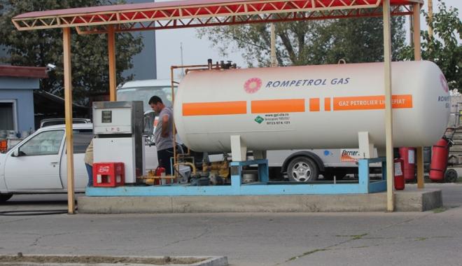 Foto: Reacţia Rompetrol după ce ANAF a închis staţia GPL  de pe platforma Petromidia