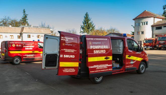 Foto: Rompetrol continuă parteneriatul  cu Fundația pentru SMURD, pentru salvarea de vieți