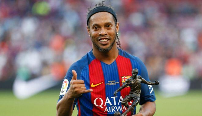Foto: DECIZIE luată de Ronaldinho, urmărit de Justiţie