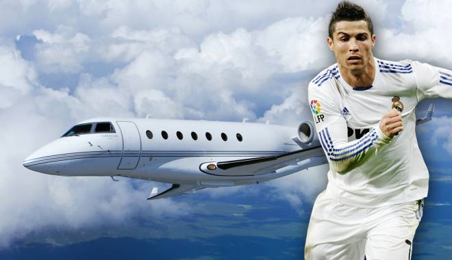 Foto: Fotbal / Cristiano Ronaldo și-a cumpărat un avion în valoare de 19 milioane euro
