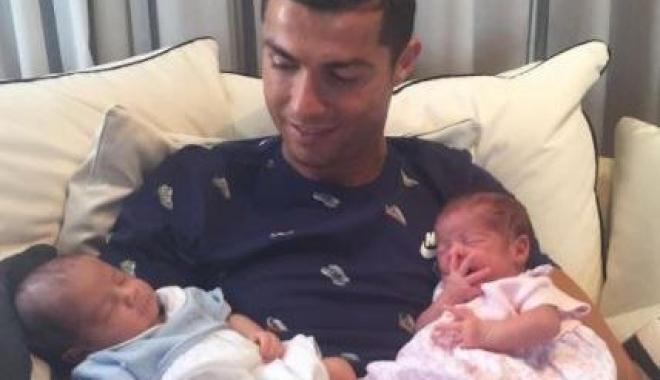 Foto: Cristiano Ronaldo, tătic din nou