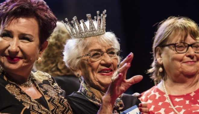 Foto: Tova Ringer a fost desemnată Miss Holocaust 2018. Are 93 de ani