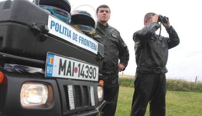 Foto: Încercau să treacă ilegat frontiera! Poliţiştii români au acţionat prompt