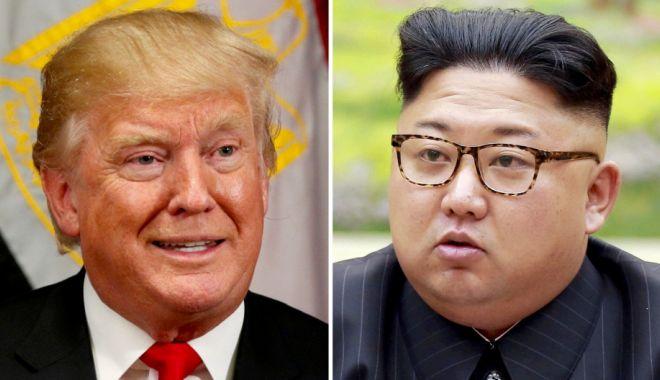 Foto: Moment istoric. Donald Trump și Kim Jong-un s-au întâlnit în zona demilitarizată, la frontiera dintre cele două Corei