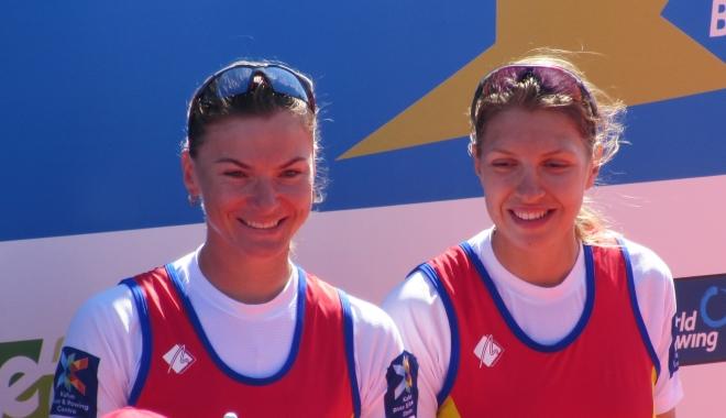 Foto: CANOTAJ / Mădălina Bereş şi Laura Oprea, aur la Europenele din Cehia
