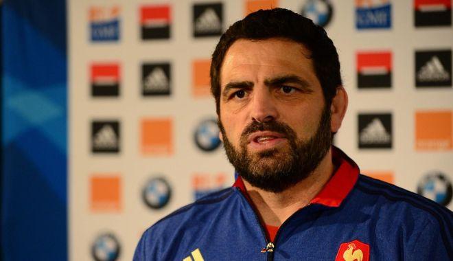 Foto: Antrenor francez la naţionala de rugby a României