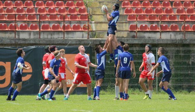 Foto: LPS Constanţa, vicecampioană naţională la rugby juniori U16