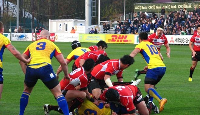 Foto: Rugby / România a fost învinsă de Japonia, 22-34