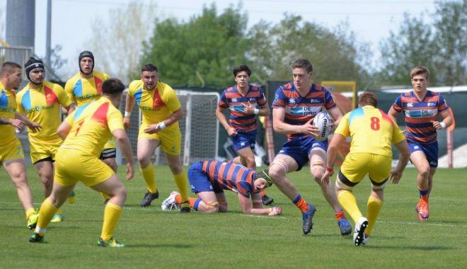 """Foto: Mai batem pe cineva la rugby? """"Stejăreii"""", învinşi de Olanda la Europene U20"""
