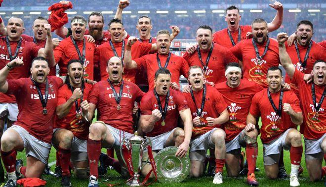 Foto: Ţara Galilor a câştigat Turneul celor Şase Naţiuni
