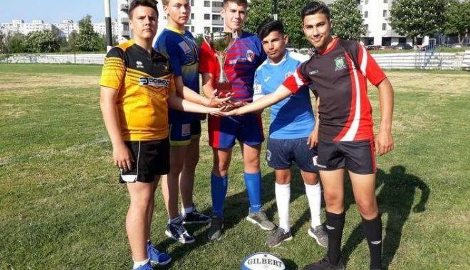 Foto: Turneul final al CN de rugby juniori U15, la Constanţa