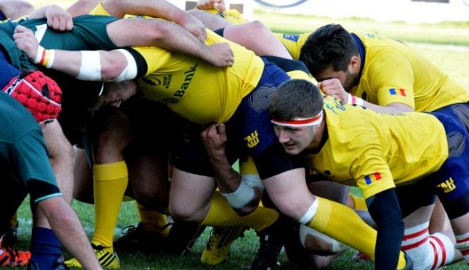 Foto: Naţionala de rugby întâlneşte Rusia, în partida pentru medaliile de bronz